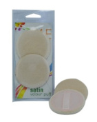 6E Satin Velour Puff Pack of 3