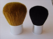 Erth Mineral Makeup 2 Piece Luxury Kabuki Brush Set. 1 x Full Coverage Luxury Kabuki Brush, 1 x Luxury Baby Kabuki Brush Travel Size. All Natural Bristles. Super Soft.