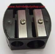 DOUBLE PENCIL SHARPENER EYE-LINER SHARPENER | EYEBROW PENCIL SHARPENER BLACK