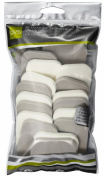 QVS Rectangle Make-up Sponges Pack of 20