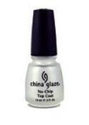 China Glaze No Chip Top Coat W/Bx 15ml - TBP72027