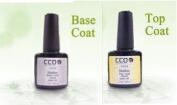 CCO Nail Gel Top & Base Coats - UV Gel Soak off Gel