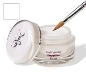 Dream Acrylic Nail Powder; Fast Set; Natural White; 40gm | Essential Nails