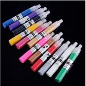 12 Colour 3d Paint Nail Art DIY Polish Pen Uv Gel Acrylic Tips Set Salon Beauty by manufacture seller