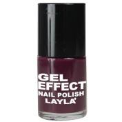 Layla Gel Effect N12 Smooth Purple Nail Polish