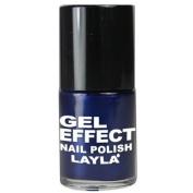 Layla Gel Effect N09 Aria Blues Nail Polish