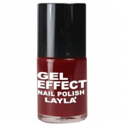 Layla Gel Effect N07 Red and Rich Nail Polish