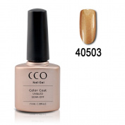 CCO Shellac #3 Iced Cappuccino - UV Gel Soak off Gel