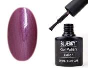Shellac Nails by Bluesky Purple Sheen Shellac Gel 10ml