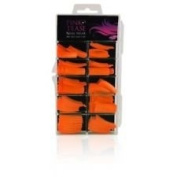 Pink Tease False Nail Wear 100 Tips - Orange