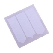 10 PACKS Acrylic French Nail ART Guide Tips 2.5mm Finger Manicure Paper Sticker