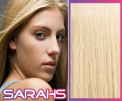 25 Strands - 50cm Pre Bonded Remy Nail Tip Hair Extensions. Bleach Blonde #613