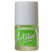 Models Own Artstix Nail Beads Neon Green