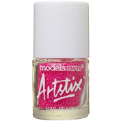 Models Own Artstix Nail Beads Neon Pink