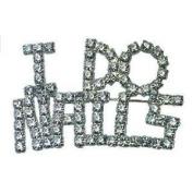 Millennium Nails I DO NAILS DIAMOND SILVER Badge - MILMNB1