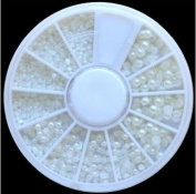 Nail Art Rhinestone Premium Quality Different Size PEARL Gemstones