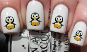 Baby Penguin - Nail Decals by YRNails