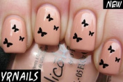 Butterfly Trio Nail Decals by YRNails