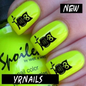 Cute Owls Nail Decals by YRNails