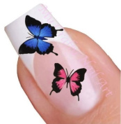 Butterfly Water Nail Art Decal / Tattoo / Sticker