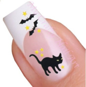 Halloween Nail Art Decal / Tattoo / Sticker