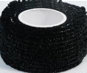 DL Professional Finger Wrap Black 6-1/2 ft. x 25 mm W