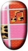 Ninxae Nail Wraps - Leopard Pink Squares