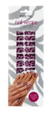Nails Inc Pink Cheetah Nail Wraps - Pack of 24 Wraps