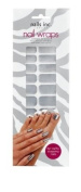 Nails Inc Solid Chrome Nail Wraps - Pack of 24 Wraps