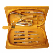 Kanoo Top Quality Manicure Set & Soft Leather Case