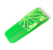 Green Flower 5 Piece Nail Manicure Set