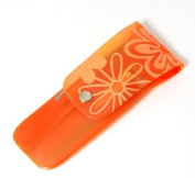 Orange Flower 5 Piece Nail Manicure Set