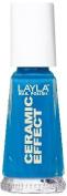 Smalto Layla Ceramic Effect N.38 Aquamarine Nail Polish