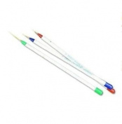 Set of 3 Professional Nail Art brushes Painting Brush Pen, Detailer, Liner and Striper