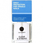 Salon Systems Clear And Strong Nail Strengthener 15ml