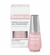 Barielle Protect Plus Colour Nail Strengthener (Dark Pink) 14.8 ml