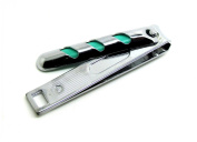 Stainless Steel Large 9 Cm Nail Clippers Cutter Trimmer Green Stripe Design By SMSURGICAL