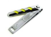 Stainless Steel Large 9 Cm Nail Clippers Cutter Trimmer Yellow Stripe Design By SMSURGICAL