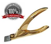 Nail Clipper Cutter Acrylic False Nail Cutter Gold Colour Nail Cutter