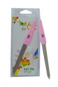 6E Nail File Large 2 x Pack of 2