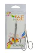 6E 8.9cm Fix Screw, Curved Arrow Point Scissor