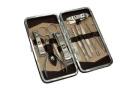 12PCS Nail Care Personal Manicure & Pedicure Set Travel & Grooming Kit Tool Set Clipper Set Cuticle Nipper File Tweezers