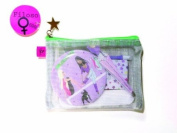Filosofille Essential Kit Dance A-01-6703 Manicure / Epilation Set 6 Pieces