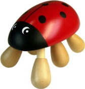 Wooden Ladybird Massager