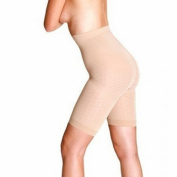 Peachy Pink Anticellulite Body Toning and Slimming Pants for Thighs Waist and Bum SMALL High Waist
