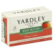 Yardley London Cleansing Bar, Body Butter, Mango Cream 130ml