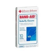 Band Aid Water Proof Band-Aid Butterfly Closures, Medium - 10 Closures