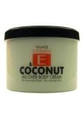 Village 9506-04 Coconut Body Cream 500ml with Vitamin E