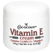 Cococare, Vitamin E Cream, 12,000 IU, 120ml