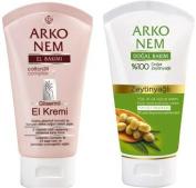 Arko Nem Skin Care Creams with Glycerine and Olive Oil -75ml